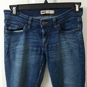 Levi's too superlow 524 jeans 7M